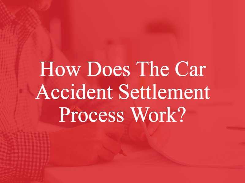 How Does the Car Accident Settlement Process Work?